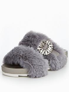 v-by-very-maisy-embellished-fluffy-slider-grey