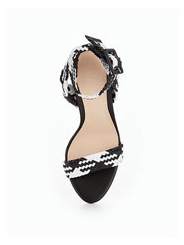 Limited New Clearance Wholesale Price Woven by Havana Cone Very V  Monochrome Sandal Heel Cheap Shop Many Kinds Of Sale Online Cheap New rJHUA