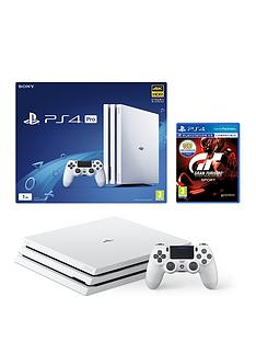 playstation-4-pro-glacier-white-console-withnbspgran-turismo-sport-plus-optional-extra-controller-andor-12-months-playstation-network
