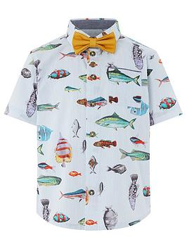monsoon-jack-fish-print-shirt-and-bow-tie