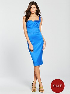 karen-millen-satin-dress