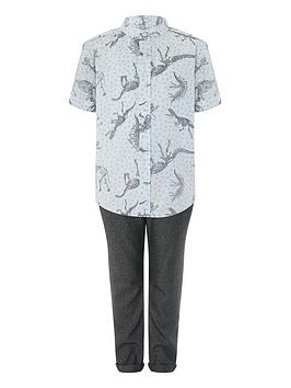 monsoon-jude-dino-shirt-and-trouser-set