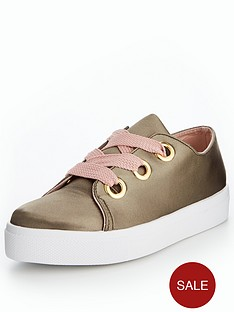 v-by-very-pear-eyelet-trainer-khakipink