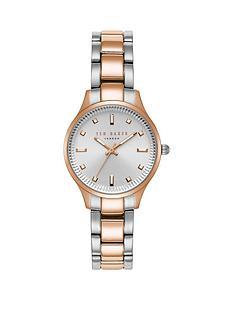 ted-baker-two-tone-stainless-steel-bracelet-ladies-watch