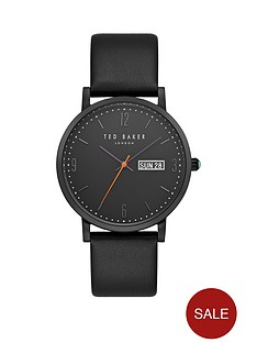 ted-baker-black-dial-black-leather-strap-mensnbspwatch