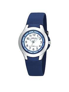 lorus-blue-polyurethane-strap-boys-watch