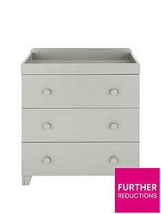 little-acorns-changerchest-of-drawers-light-grey