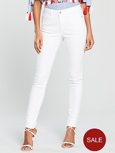 v-by-very-denni-mid-rise-skinny-jean-white
