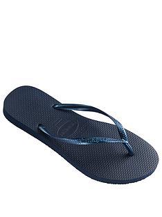 62a88e6d5acd7 Havaianas Slim Flip Flop Sandal - Navy