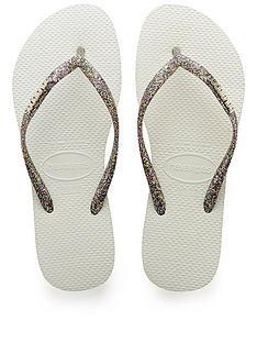 c65c2725ad8cc8 Havaianas Havaianas Slim Logo Metallic Flip Flop Sandal