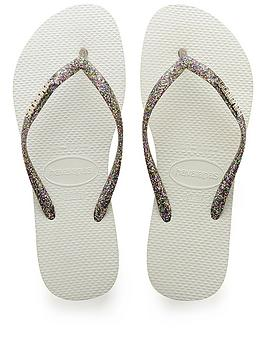 47cc65013 Havaianas Havaianas Slim Logo Metallic Flip Flop Sandal ...