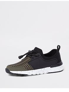 river-island-boys-khaki-mesh-runner-trainers