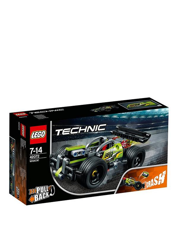 LEGO Technic Racing Car Pull Back Motor 2In1 Advanced set 42072 Brand New