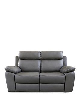 new-edison-2-seater-luxury-faux-leather-manual-recliner-sofa