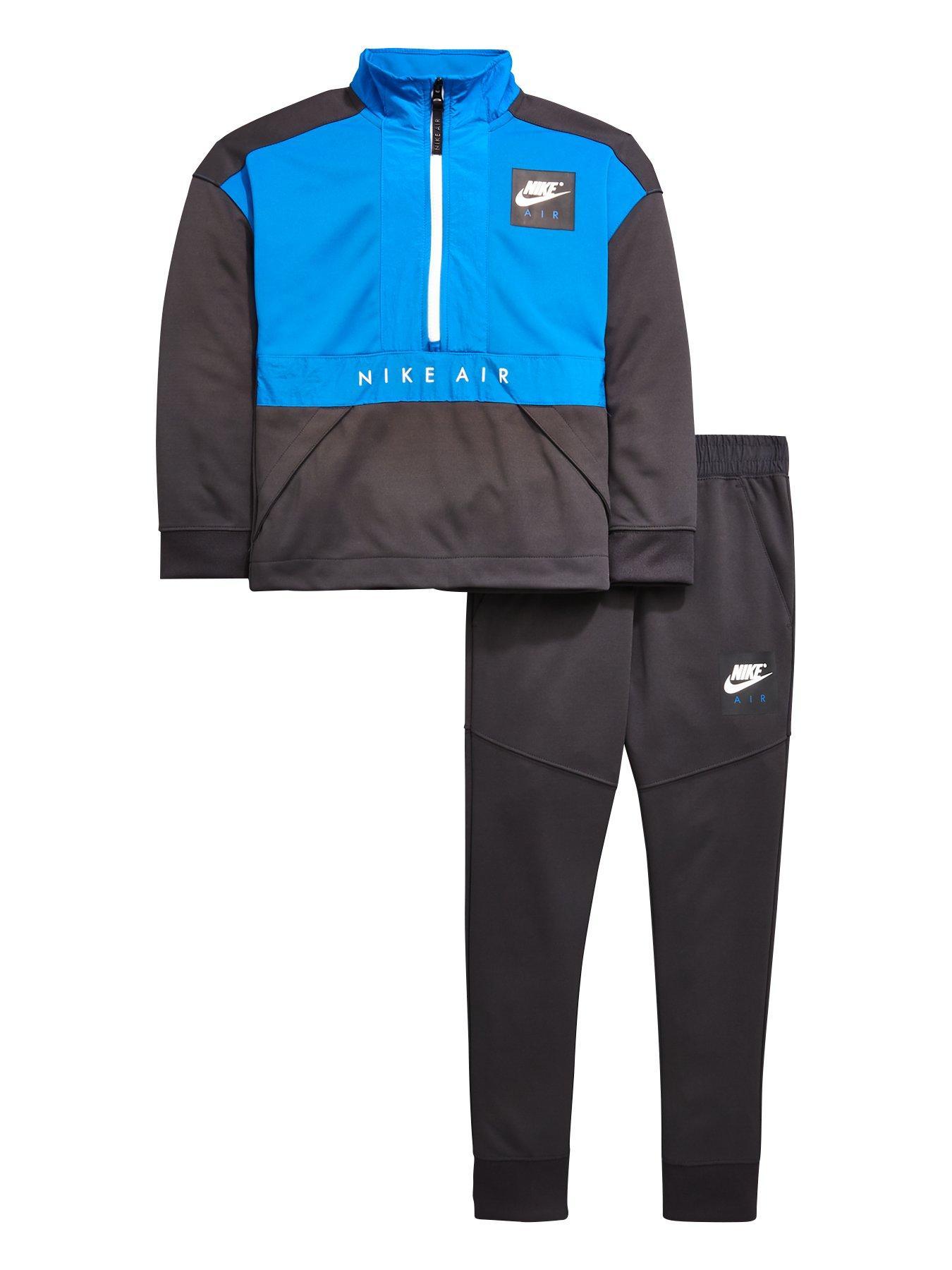 Nike Older Boys Air Track Suit - Blue