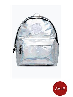 hype-holographic-backpack-silver