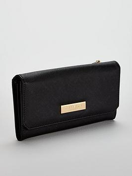 Foldover Carvela Black Alisa Purse Cheap Sale Really Fashion Style Cheap Online Cheap Sale Top Quality 7VyokCa1P