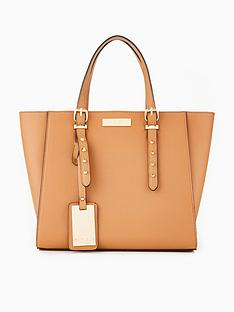 carvela-sammy-studded-detail-winged-tote-bag-tan