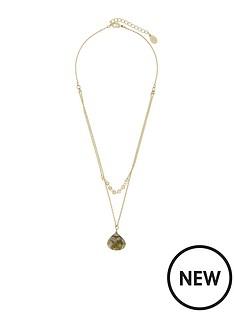 accessorize-layered-stone-pendant-necklace