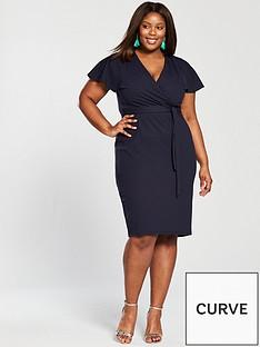 v-by-very-curve-kimono-wrap-pencil-dress-navy