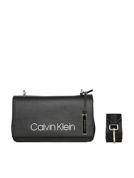 Klein Shoulder Calvin Bag Klein Calvin Candy Black Black Cheap Sale Extremely Prices gczFxC