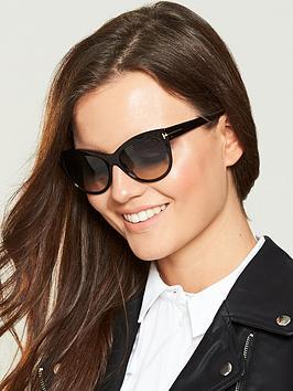 3e29dd8165 Tom Ford Lilly Sunglasses - Dark Havana