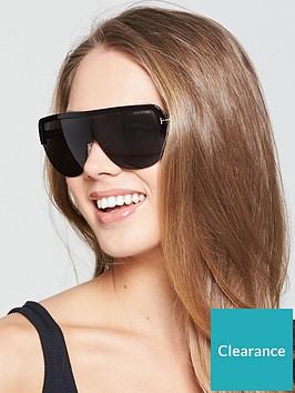 69af3c86aa9 Tom Ford Angus Shield Sunglasses - Black