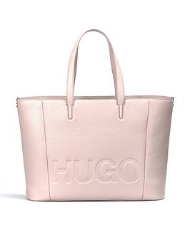 Large Tote Pink Shopper Bag  Boss Mayfair Logo Leather Hugo Clearance Latest Collections Outlet Countdown Package Huge Surprise Online FAlaMYli