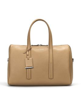 boss-taylor-duffle-leather-bag-stone
