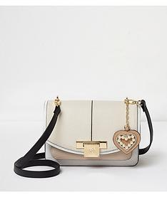 river-island-river-island-cream-lock-front-cross-body-bag