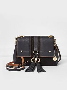 river-island-river-island-black-foldover-crossbody-bag