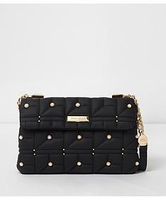 river-island-pearl-and-quilt-underarm-bag-black