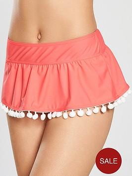 v-by-very-shapewear-pom-pom-swim-skirt-flamingo