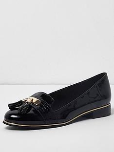 river-island-river-island-tassel-patent-loafers--black