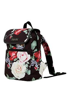 b2db525442 Myleene Klass Black Foral Backpack