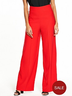 miss-selfridge-full-length-wide-leg-trouser-red