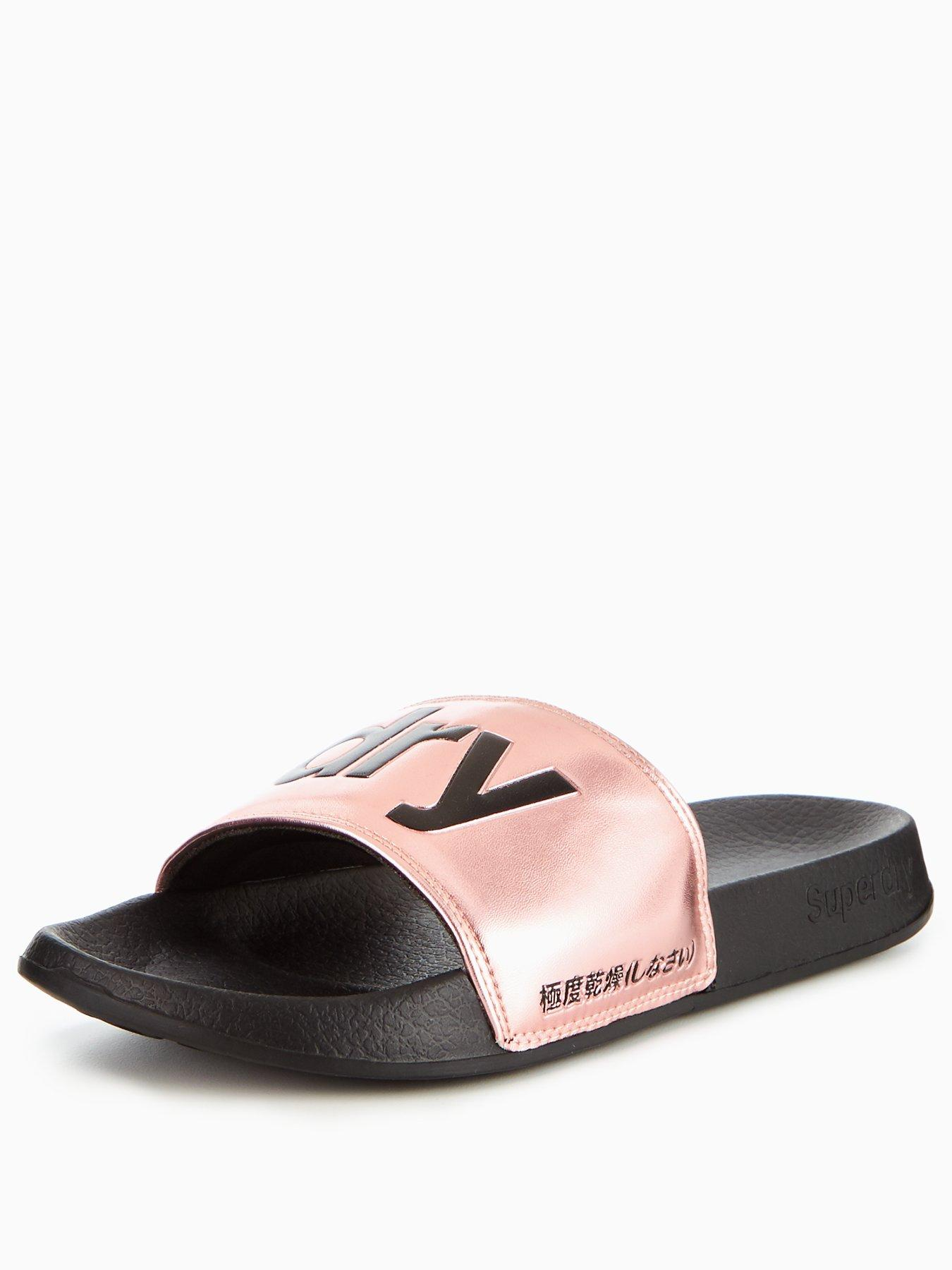 Womens Jelly Pool Slider Flip Flops Superdry ZQzbrOe3Ai