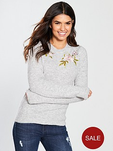 warehouse-molly-embroidered-jumper