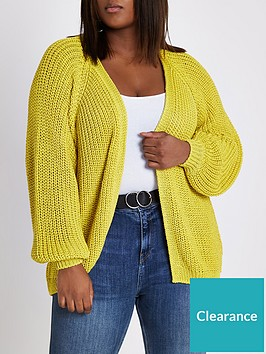 ri-plus-ri-plus-chunky-cardigan--yellow