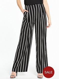 miss-selfridge-stripe-wide-leg-trouser