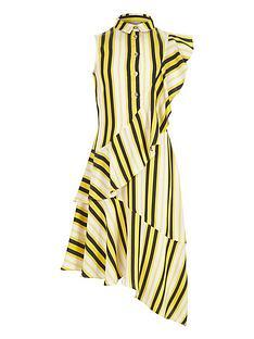 river-island-girls-yellow-stripe-frill-shirt-dress