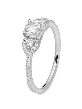 the-love-silver-collection-sterling-silver-white-cubic-zirconia-elegant-trilogy-ring