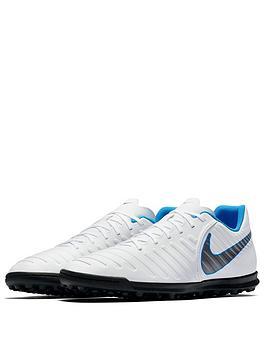 Discount High Quality Hot Sale Cheap Online Turf Astro Mens White Legend Club nbsp  TiempoX Blue Boot Football Nike 0Ne8N