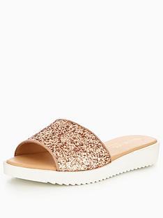 head-over-heels-legarra-glitter-strap-slider-rose-gold