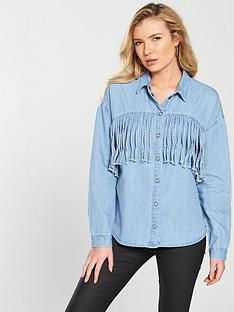 noisy-may-grace-long-sleeve-fringe-shirt-light-blue-denim