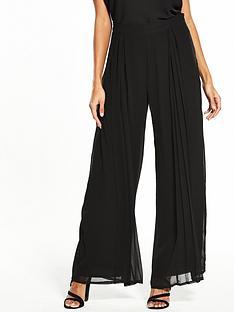 wallis-pleat-trouser-black