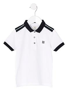 river-island-mini-boys-white-chest-embroidered-polo-shirt