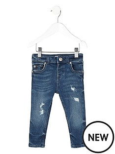 river-island-mini-boys-mid-blue-distressed-sid-skinny-jeans
