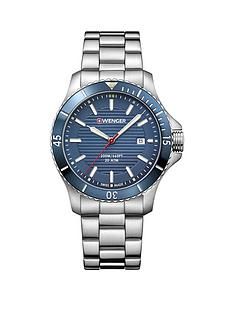 wenger-wenger-seaforce-mens-watch-blue-dial-43mm-stainless-steel-case-and-bracelet