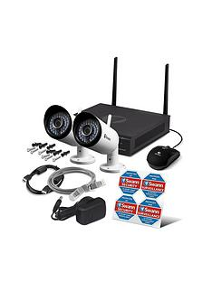 Smart home security systems alarms cameras littlewoods ireland swann cctv system 1080p 4 channel 1tb hdd dvr inc 2x pro 1080p cameras solutioingenieria Images